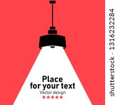 modern interior.vector isolated ... | Shutterstock .eps vector #1316232284