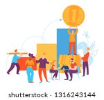 vector illustration with... | Shutterstock .eps vector #1316243144