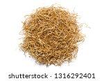 golden shredded paper for... | Shutterstock . vector #1316292401