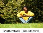 portrait of beautiful young...   Shutterstock . vector #1316316041