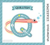 letter q uppercase cute...   Shutterstock .eps vector #1316332904