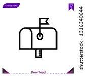 mailbox  vector . best modern ...