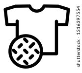 textile dirt tshirt icon.... | Shutterstock .eps vector #1316397554