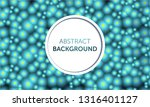 seamless abstract background.... | Shutterstock .eps vector #1316401127