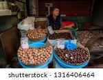 spice market  istanbul  turkey  ... | Shutterstock . vector #1316406464