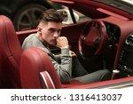 sexy  rich  guy. model. man.... | Shutterstock . vector #1316413037