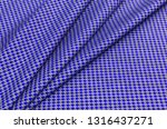 fabric made of cotton and linen ... | Shutterstock . vector #1316437271