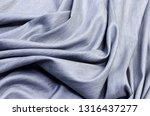 cotton fabric of light gray... | Shutterstock . vector #1316437277