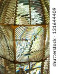 Fresnel Lens Of Lighthouse...