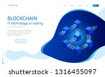 isometric concept of quantum...   Shutterstock .eps vector #1316455097