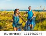 summer people lifestyle happy... | Shutterstock . vector #1316463344