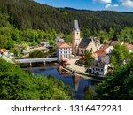 rozmberk nad vltavou cesky...   Shutterstock . vector #1316472281