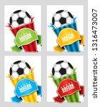 football. speech bubble on a...   Shutterstock .eps vector #1316473007