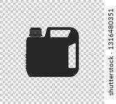 plastic canister for motor... | Shutterstock .eps vector #1316480351