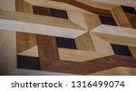 intarsie parquet as parquet... | Shutterstock . vector #1316499074