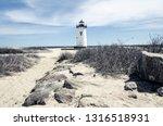 Edgartown Lighthouse  On Martha'...