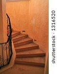 a winding spiral staircase | Shutterstock . vector #1316520