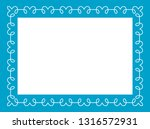 blue photo picture art frame... | Shutterstock .eps vector #1316572931