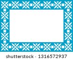 blue photo picture art frame... | Shutterstock .eps vector #1316572937