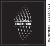 track and field  track  sports... | Shutterstock .eps vector #1316577821