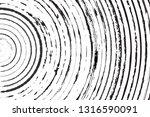 radial grunge overlay texture... | Shutterstock .eps vector #1316590091