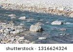 mountain river stream of water...   Shutterstock . vector #1316624324