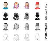 vector design of imitator and... | Shutterstock .eps vector #1316636417