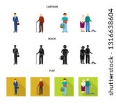 vector design of character and...   Shutterstock .eps vector #1316638604