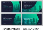landing pages templates set for ...