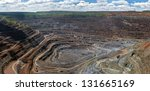 Panorama Of Quarry Extracting...