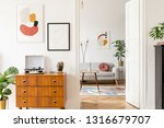elegant and retro decor of... | Shutterstock . vector #1316679707