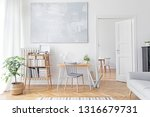 stylish scandinavian home decor ... | Shutterstock . vector #1316679731