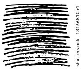 sketch scribble smear square.... | Shutterstock .eps vector #1316681054