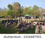chiang mai thailand   18... | Shutterstock . vector #1316687531