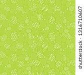 easter seamless pattern... | Shutterstock .eps vector #1316710607