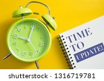 time to update concept with...   Shutterstock . vector #1316719781