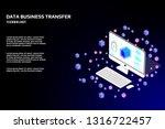 technology futuristic desktop...