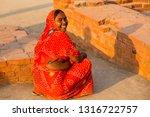 bihar india   february 14  ...   Shutterstock . vector #1316722757