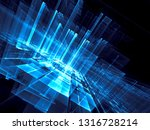 abstract science fiction or... | Shutterstock . vector #1316728214