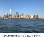 panoramic view of new york city ... | Shutterstock . vector #1316741444