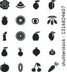 solid black vector icon set  ... | Shutterstock .eps vector #1316824607