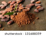 Cocoa Beans And Cocoa Powder O...