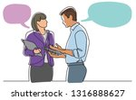 continuous line drawing of...   Shutterstock .eps vector #1316888627