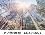 low angle view of skyscrapers ... | Shutterstock . vector #1316892071