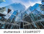 low angle view of skyscrapers ... | Shutterstock . vector #1316892077
