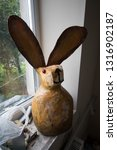 A Large Rabbit Constructed Fro...