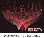 big data statistical methods... | Shutterstock .eps vector #1316903837