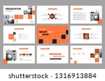 business presentation page... | Shutterstock .eps vector #1316913884