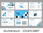business presentation page... | Shutterstock .eps vector #1316913887