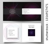 vector layout of two covers...   Shutterstock .eps vector #1316927471